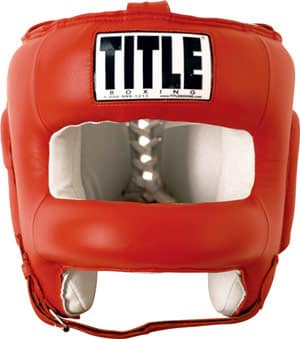 11. TITLE Boxing Face Protector Training Headgear – $89