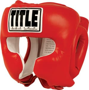 Title Traditional Training Headgear