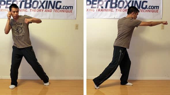 one legged punching