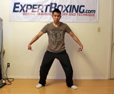 power punching secret 2 legged punching