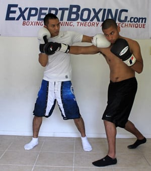 right hand counter 3 outside left hook