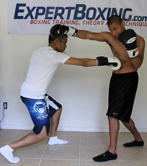 right hand counter 5 right hand trade to the body
