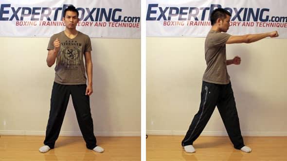 two legged power rotation
