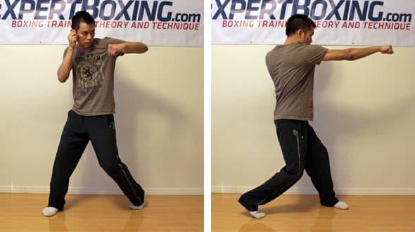 two legged punching