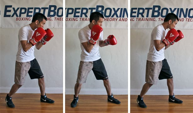 boxing footwork tips - relax your upper body