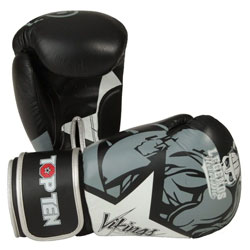 Fitness Mad Soft Synthetic Leather Sparring Boxing Training Gloves 10 12 /& 14oz