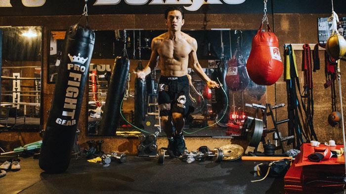 jump rope boxing footwork drill