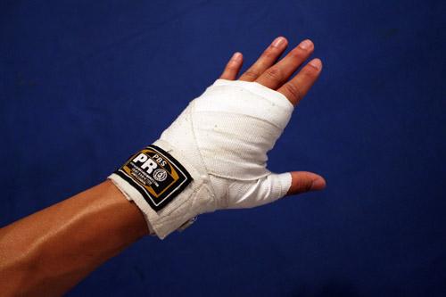 proper handwrap