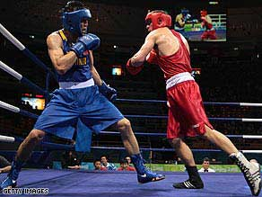 Olympic Boxers Jump A Lot