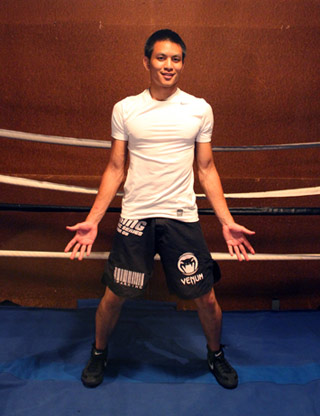 boxing stance width