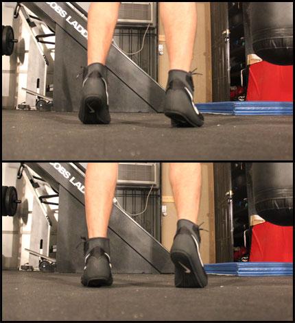 shoeshine combination footwork